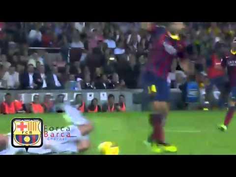 كريستيانو رونالدو يطالب بركلة جزاء بعصبية ضد برشلونة