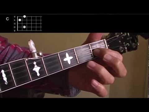 Beginning Bluegrass Banjo - Lesson 08 - The C chord - how to play and practice