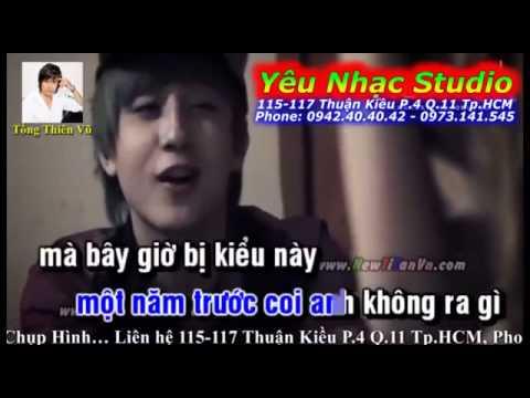 [ Karaoke ] Chờ người vô tình - Loren Kid ft. Nhi Sam (Beat)