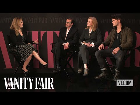 Nicole Kidman, Jeremy Irvine, & Colin Firth on