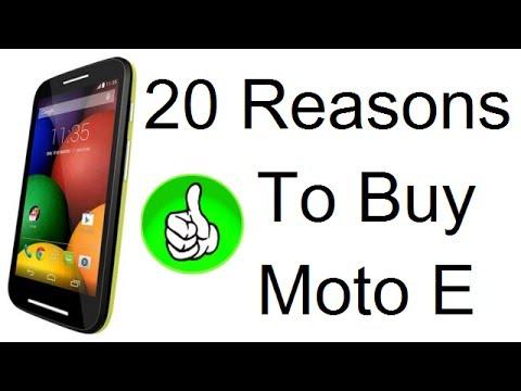 Moto E Review- 20 Reasosn To Buy #MotoE
