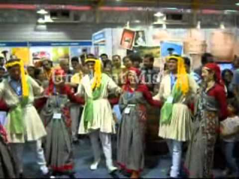 Himachali Folk Dance in Tours and Travel Fair - Bangalore (2011)