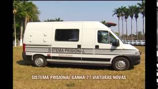 Sistema prisional de Minas ganha 77 novas viaturas policiais