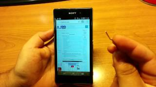 Cómo Apagar Sony Xperia Z1 Cuando Se Queda Colgado