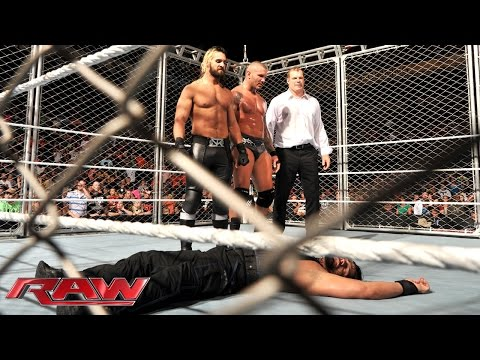 Roman Reigns vs. Randy Orton: Raw, Sept. 8, 2014