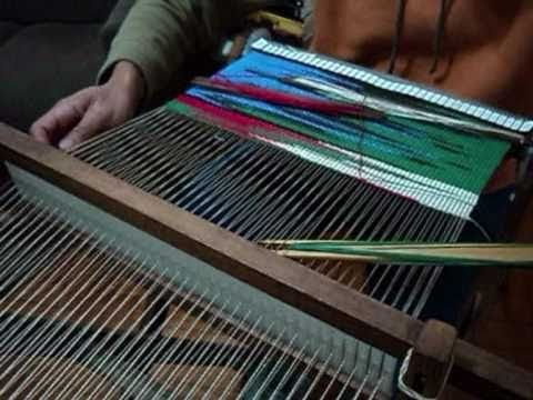 Tecelagem artesanal técnica  Gobelin