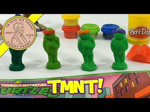 Teenage Mutant Ninja Turtles My Turtle Maker Action PlaySet, 1990 Rose Art