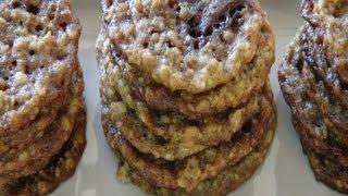 Cooking | galletas crocantes de avena con chocolate | galletas crocantes de avena con chocolate