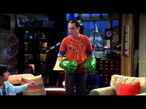 Hulk Sad Sheldon Big Bang Theory Triste