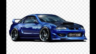 vauxhall calibra   modified