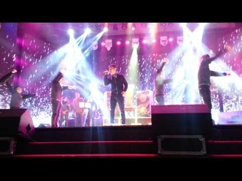 Hoàng Hải trong buổi tập ct BHYT tháng 12/2012
