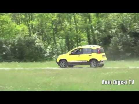 Fiat Panda Cross 90cv Multiair 4x4 Test Drive