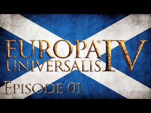 Europa Universalis IV Let's Play Scotland Episode 1