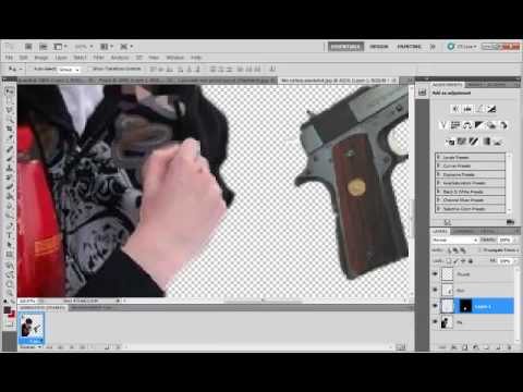 (Tutorial) Adobe Photoshop cs5 tips and tricks - Photo manipulation - Put anything into your hands