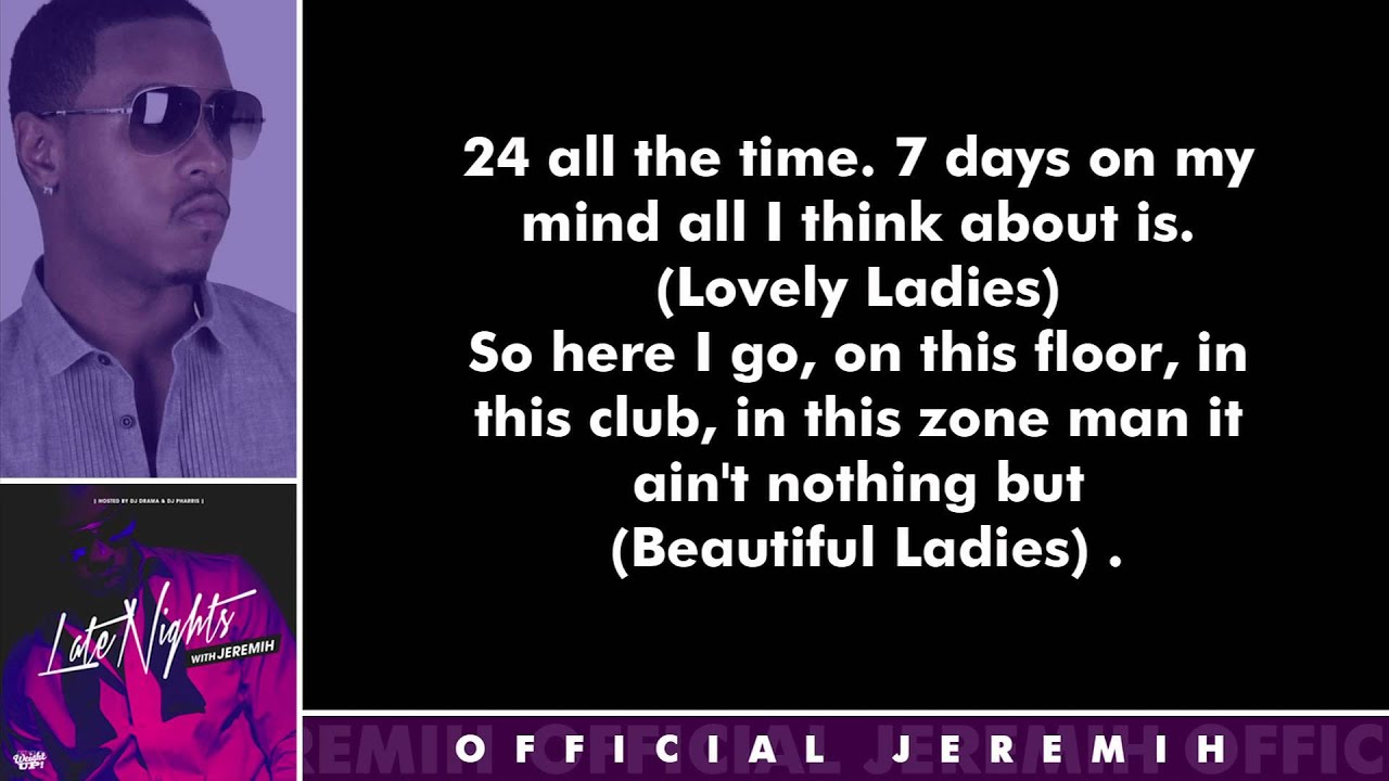 Jeremih – Fuck You All the Time Lyrics | Genius Lyrics