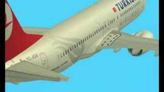 Boeing 737-800 Turkish Airlines GTA SA