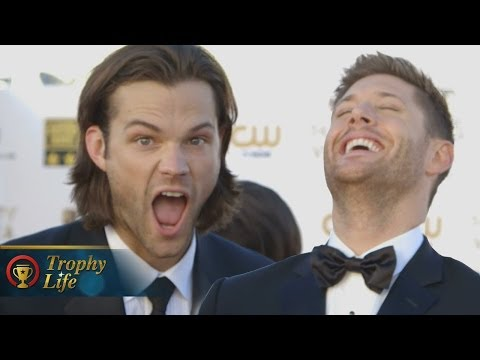 Jared Padalecki & Jensen Ackles talk 'Supernatural' Spoilers- Critics' Choice Movie Awards 2014