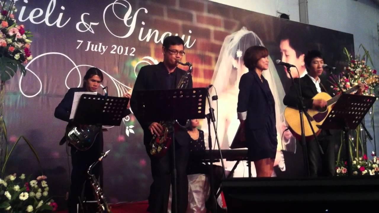 donnie chan 情非得已 qing fei de yi live wedding band