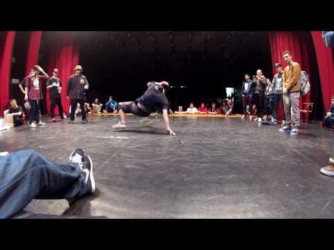 Romski vs Ren, Footwork Final Battle @ Bboy King Battle 2014, Bratislava
