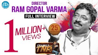 Ram Gopal Varma Exclusive Interview | Frankly With TNR