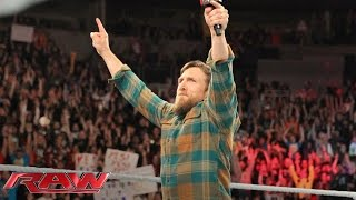 Vídeo Discurso final de Daniel Bryan en Monday Night Raw
