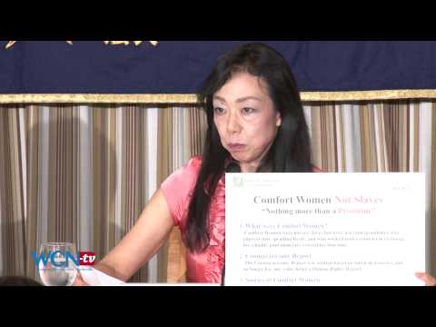 WCN-tv.com: Japanese nationalists explain why comfort women were not sex slaves, ENG