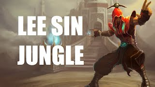 League Of Legends Lee Sin Jungle Full Game Commentary