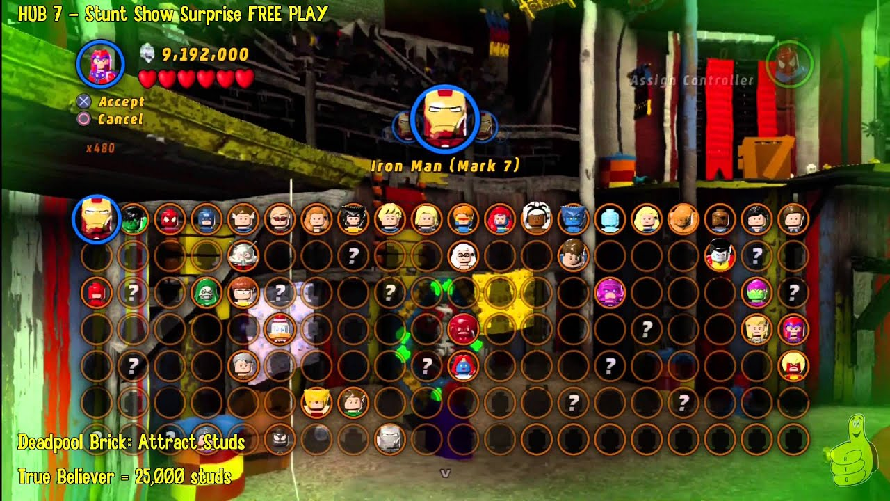 play lego marvel super heroes online free