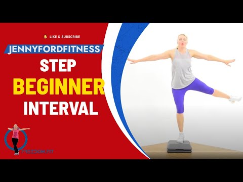 Step Aerobics Sweaty Interval Training Workout Video Quick Cardio