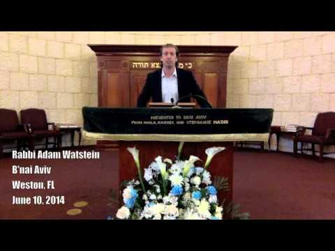 Rabbi Adam Watstein's Reaction to Palestinian Unity Government