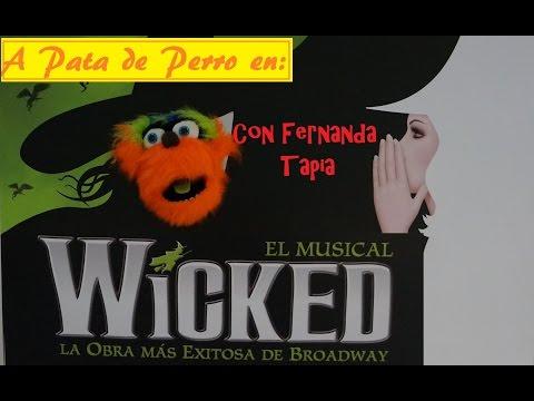 A Pata De Perro. Entrevista a Fernanda Tapia en Wicked