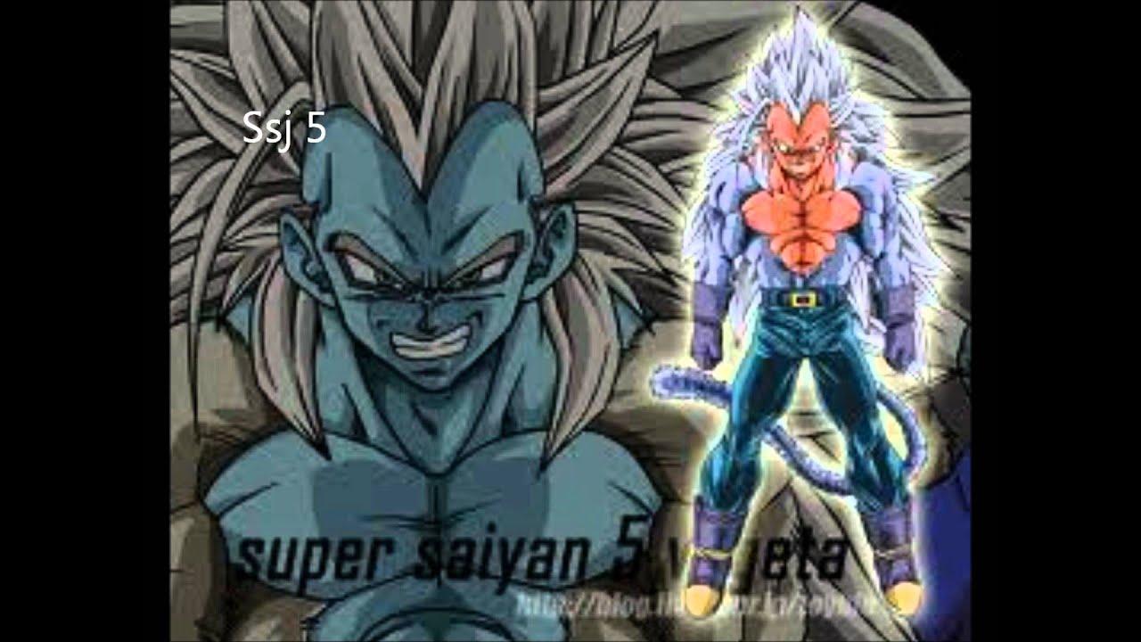 Vegeta All Super Saiyan Forms 1 20 Vegeta Super Saiyan 1-...