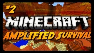 Minecraft: AMPLIFIED Survival Ep. 2 - NEW PARTNER IN CRIME!