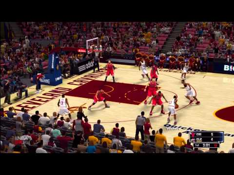 NBA 2K14: Chicago Bulls vs. Cleveland Cavaliers HD Gameplay ft. Derrick Rose and Kyrie Irving