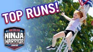 American Ninja Warrior Junior: Top CLOSEST Runs from Season 1   Universal Kids