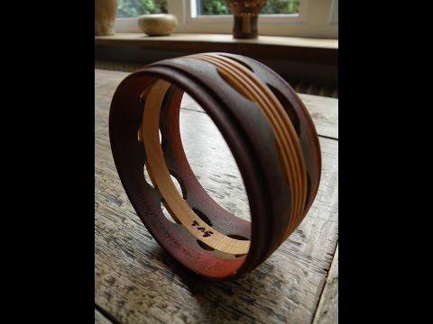 Woodturning - bracelet