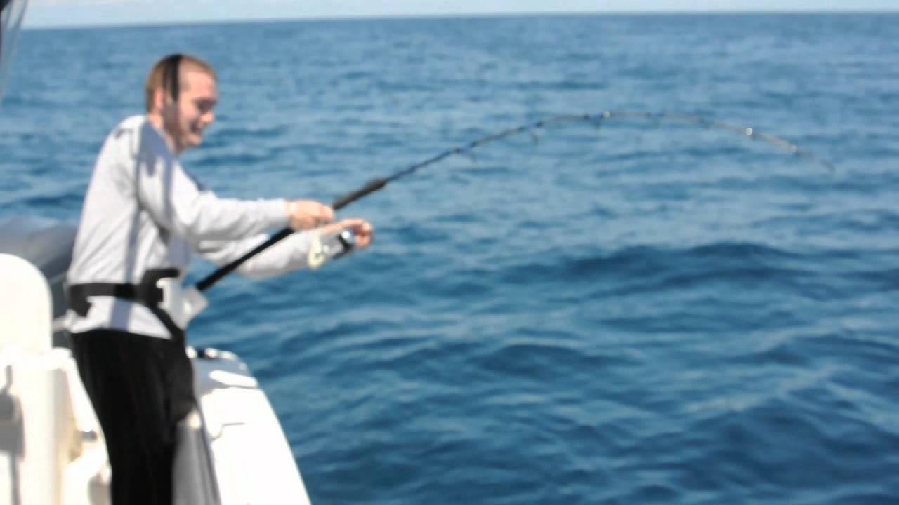 Big fish breaks fishing rod youtube for Big fishing pole