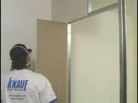Montaż ściany działowej