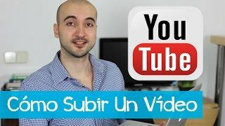 Como subir y publicar un vídeo en Youtube