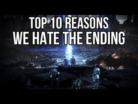 10 Reasons We Hate Mass Effect 3's Ending, 10 reasons to show why fans didn't like the ending.