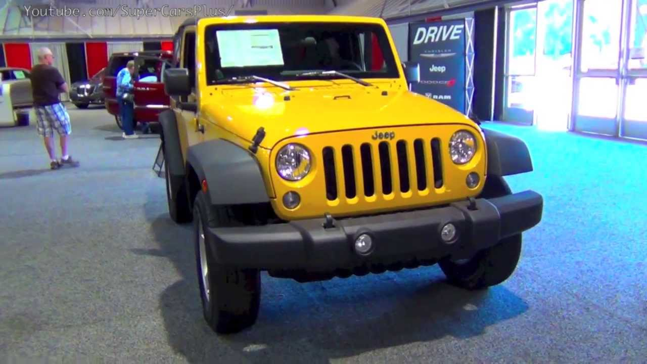 2014 jeep wrangler sport 4x4 with price 22 395 youtube. Cars Review. Best American Auto & Cars Review