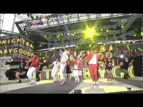 (120608) HD B1A4 - Baby Good Night Music Bank