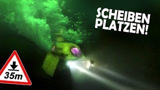 Unser Badewannen U-Boot IMPLODIERT!   Scheiben platzen! R.I.P. Anna Nass #7