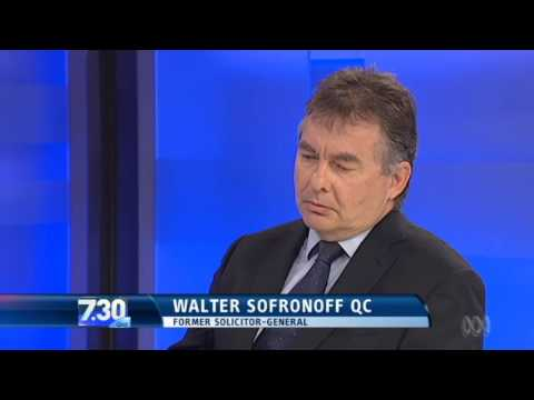 Former Solicitor-General slams Carmody appointment (13/6/14)