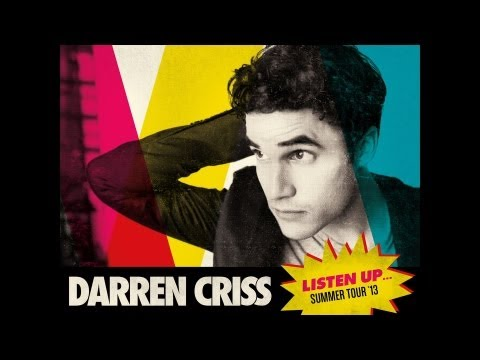 Summer Tour Announcement From Glee's Darren Criss!!