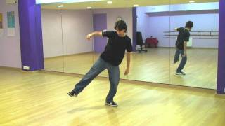 Break Dance Hip Hop How To Basic Step Tutorial Como