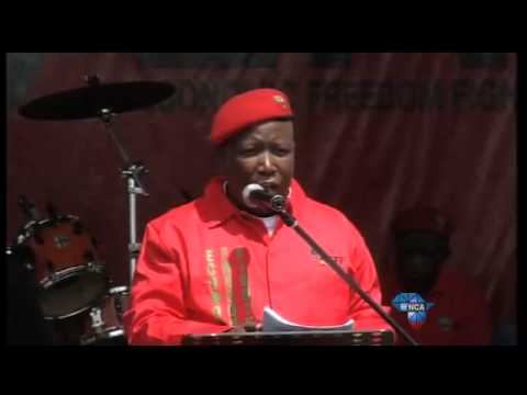 Julius Malema addresses the nation at the EFF's manifesto launch (Part 3)