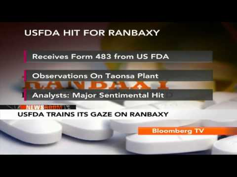 Newsroom- USFDA Turns Its Gaze On Ranbaxy
