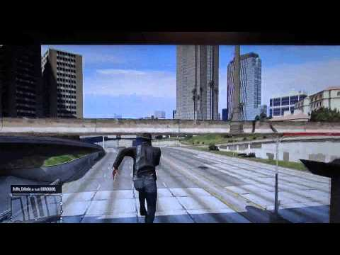 GTAV ONLINE 1.11 WALLBREACH INVISIBLE ET INVINCIBLE