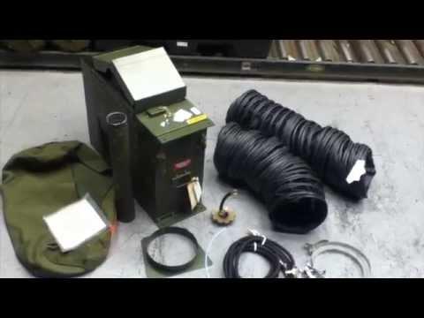 4 Hunter Multifuel Space Heaters for Sale on GovLiquidation.com